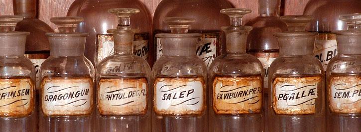 Vintage Pill Bottles