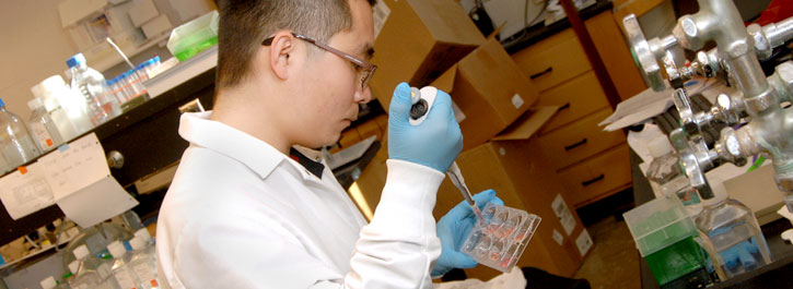 Pharmaceutical Researcher in Lab