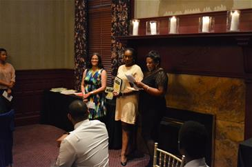 Students receiving CinPhA Awards